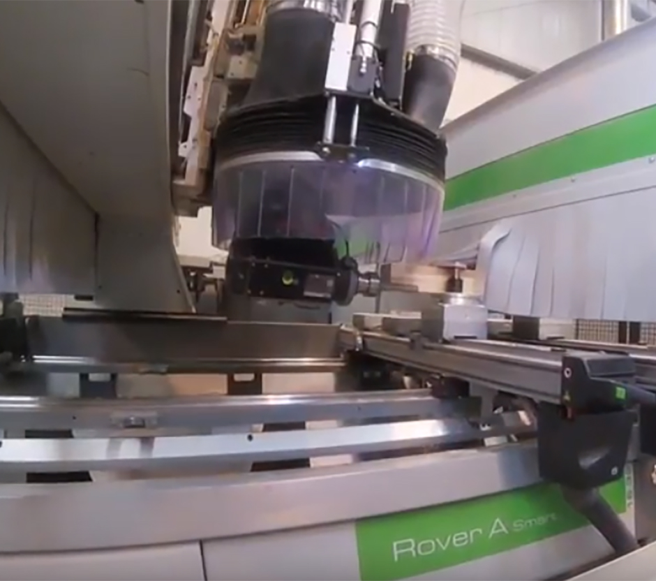 Bearbejdning CNC Rover A